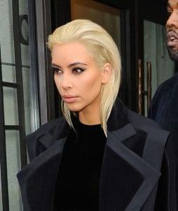 bleach blonde hair
