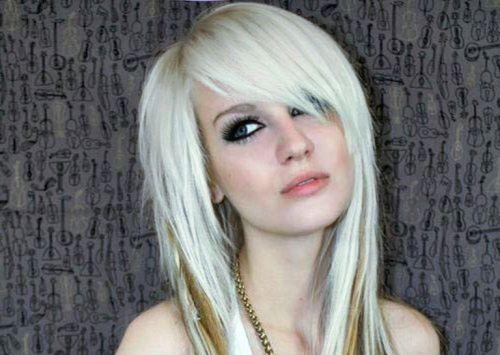 Blonde Emo Bangs 108