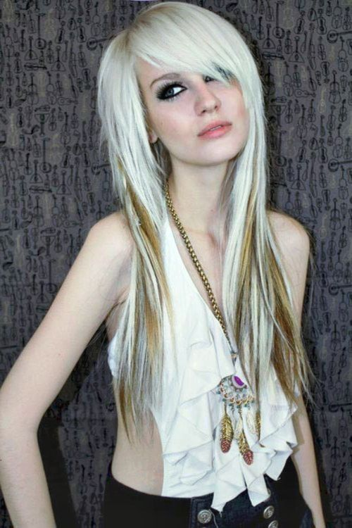 Swell 50 Emo Hairstyles For Girls I Bet You Haven39T Seen Them Before Short Hairstyles For Black Women Fulllsitofus