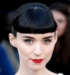 bold bangs short hair