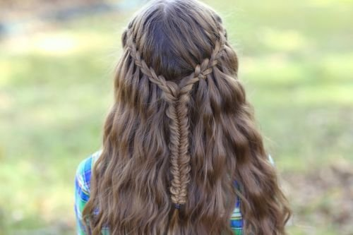 braid around fishtail