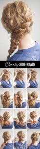 braided chignon diy