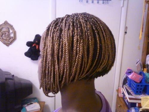 braid in a bob short hair