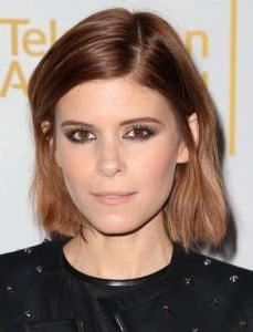 side part celebrity hair