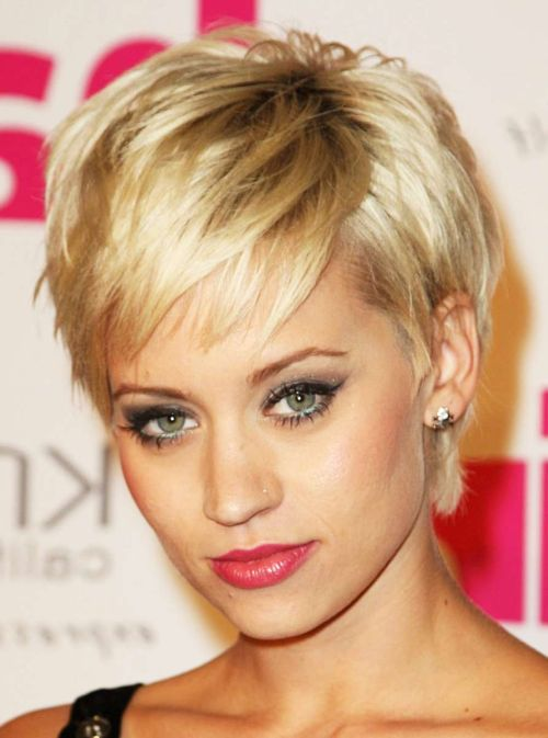 chopped pixie fine hair