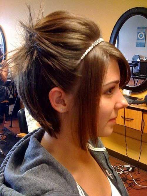 Sensational Cute Updos Hairstyles For Short Hair Easy Casual Hairstyles For Short Hairstyles For Black Women Fulllsitofus