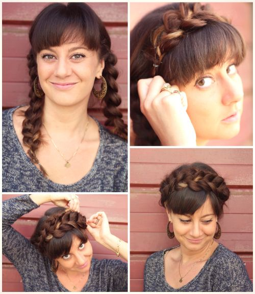 Brilliant 60 Quick And Easy Hairstyles For Short Long Amp Curly Hair Hairstyle Inspiration Daily Dogsangcom