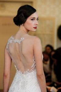 embroidered back hair
