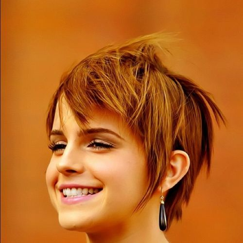 emma watson smiling pixie
