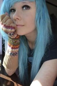 emo scenic hair