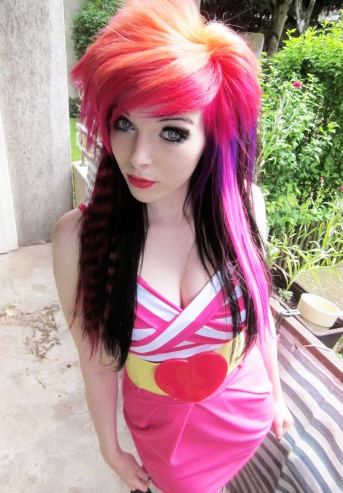 Terrific 50 Emo Hairstyles For Girls I Bet You Haven39T Seen Them Before Short Hairstyles For Black Women Fulllsitofus