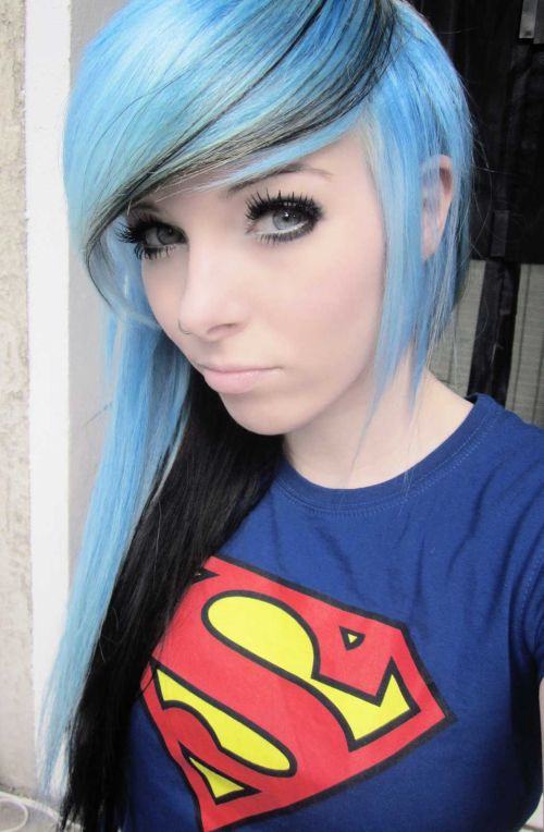 fantasy emo hair