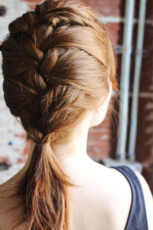 Magnificent 70 Cute French Braid Hairstyles When You Want To Try Something Short Hairstyles For Black Women Fulllsitofus
