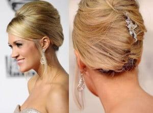 french twist wedding hair