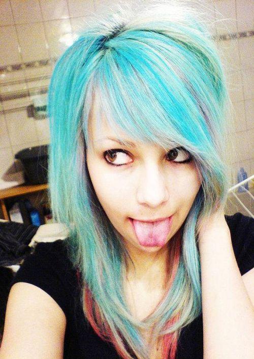 haircolor for teenager
