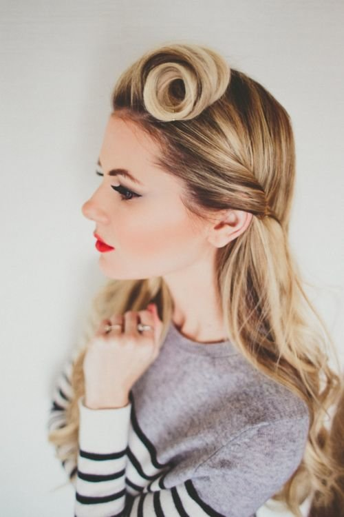 vintage hair up styles 75 popular vintage hairstyles that you can do yourself 6785