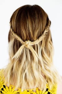 knot at the back