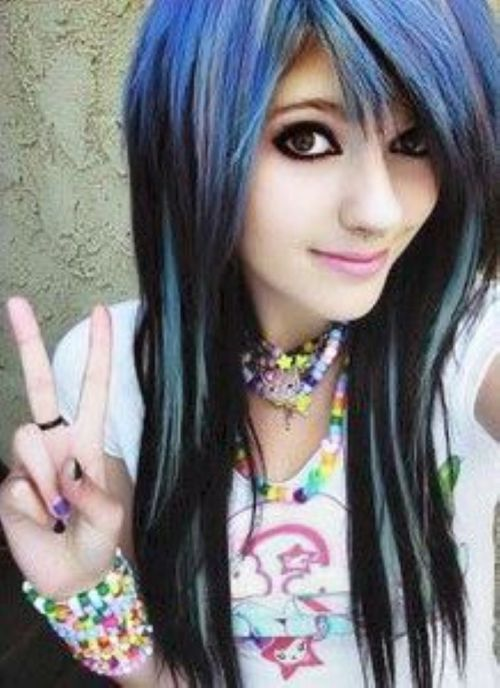 Magnificent 50 Emo Hairstyles For Girls I Bet You Haven39T Seen Them Before Short Hairstyles For Black Women Fulllsitofus