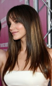 long layers with highlights