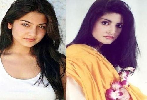 Anushka Sharma and Nazia Hassan