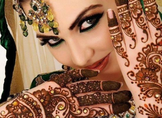 Bridal Mehndi On Foot : Wonderful bridal mehndi designs for hands and feet