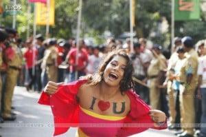 A crazy fan of Shahrukh