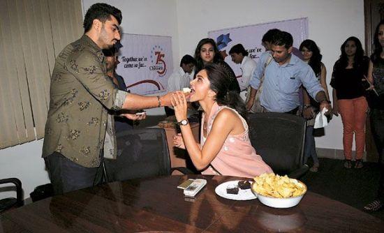 Deepika & Arjun