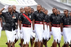Fijian police uniform