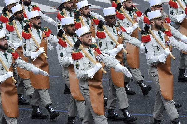French Foreign Legion uniform