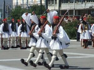 Greek guard uniform