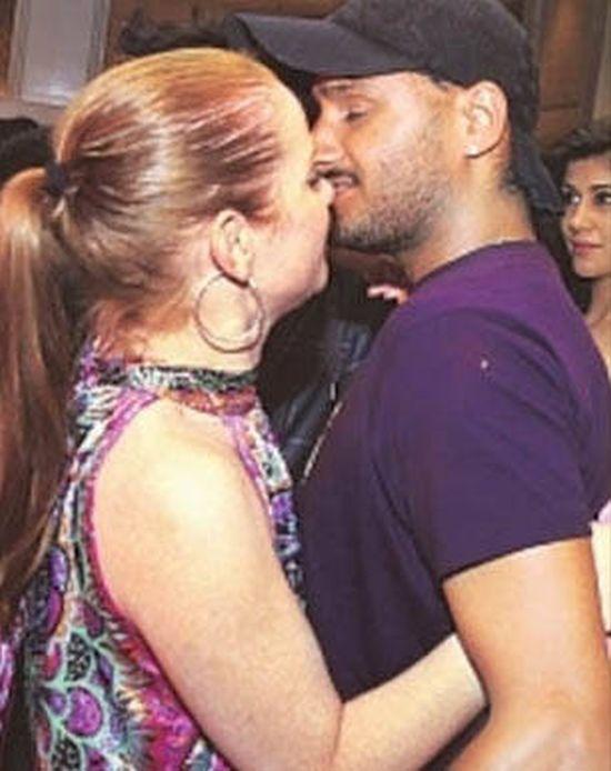 Harbhajan Singh at IPL party