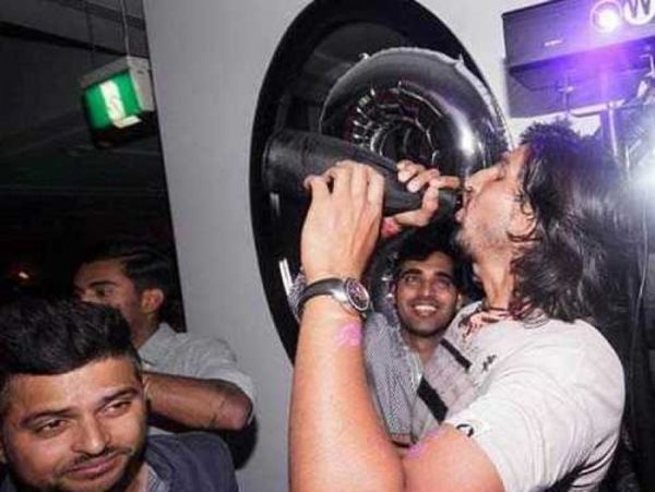 Ishant Sharma at party