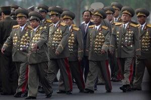 North Korea uniform