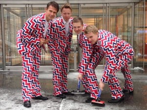 Norwegian Olympic Curling Team for Vancouver