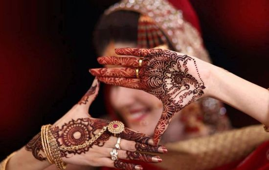 Mehndi For Thin Hands : Latest pakistani mehndi designs and their symbolic meaning