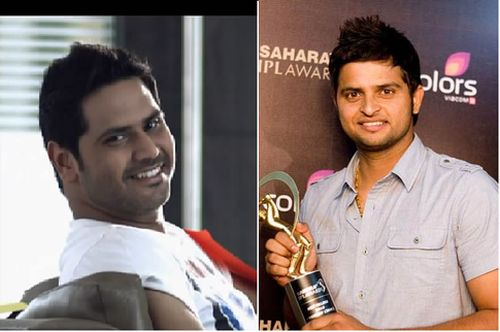 Punjabi pop artist Alfaaz and cricketer Suresh Raina