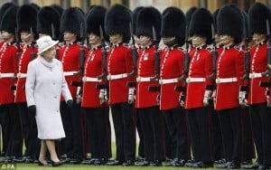 Queen's gaurds uniform