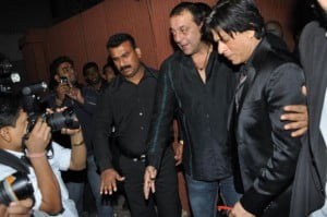 Sanjay Dutt and Shah Rukh Khan