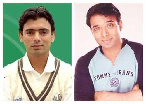 Saqlain Mushtaq and Uday Chopra