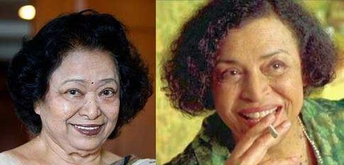 Shakuntala Devi and Gloria Foster