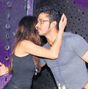 Sreesanth at party