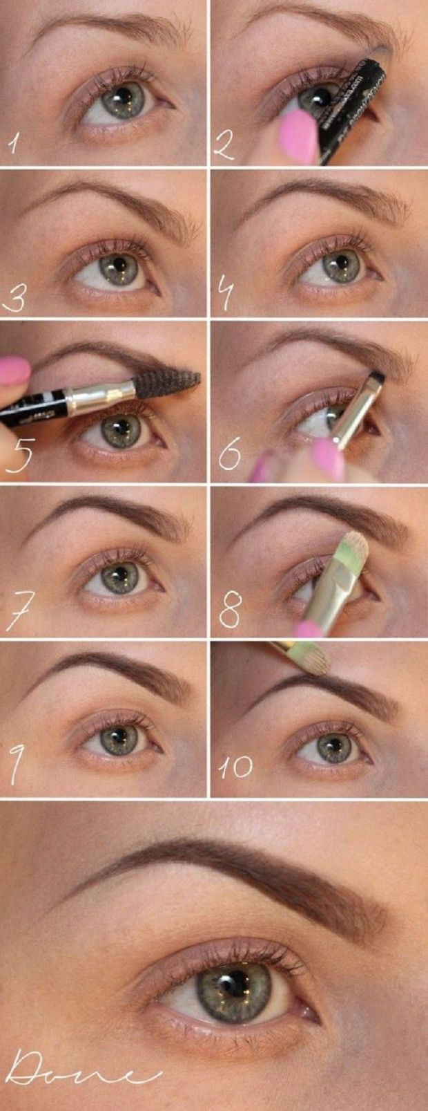 How To Shape Eyebrows Perfectly Tips Tutorial Videos