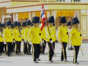 Thailand Royal Guard units