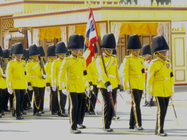 Thailand Royal Guard units
