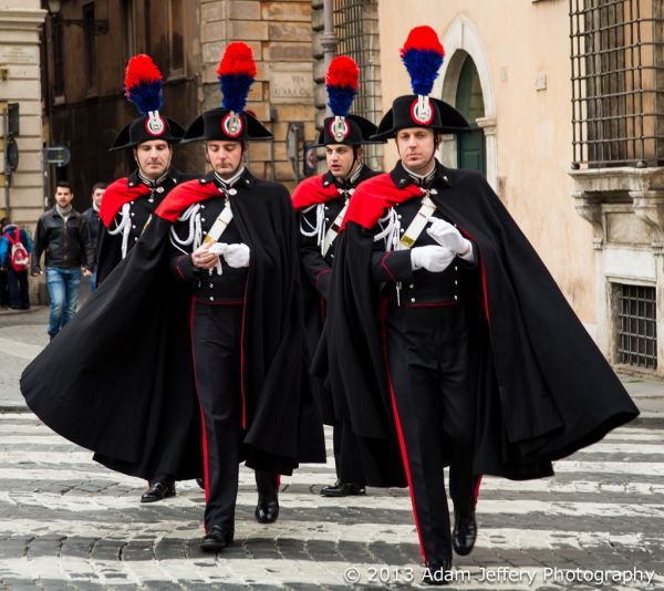 The Carabinieri uniform