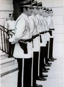 Uniform of the US Secret Service
