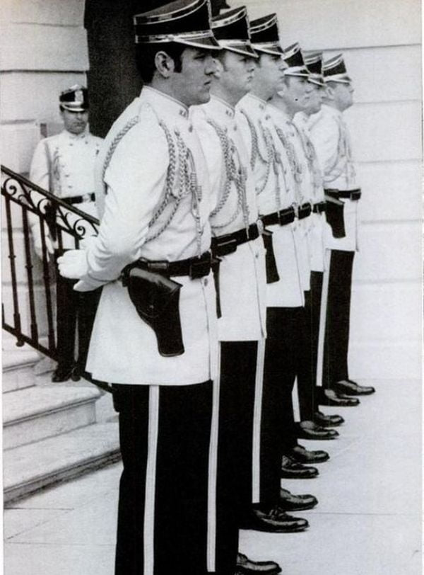 Uniform of the US Secret Service