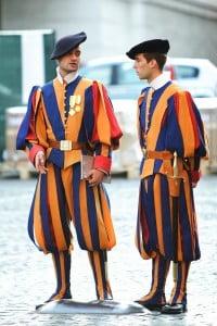 Vatican gaurd uniform