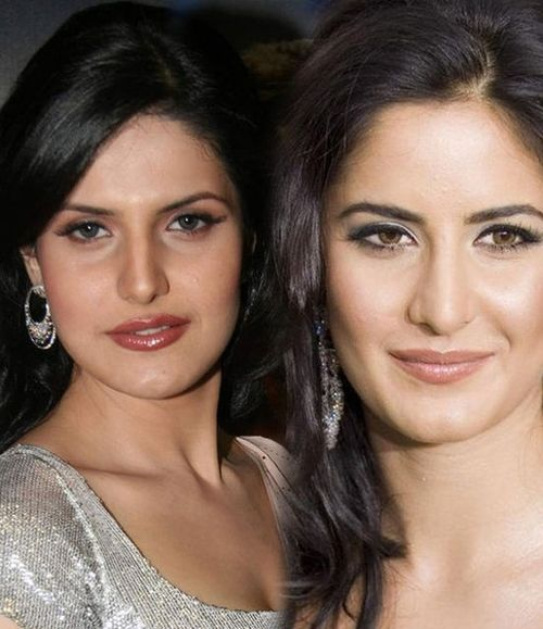 Zarine Khan and Katrina Kaif