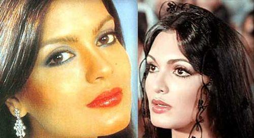 Zeenat Aman and Parveen Babi